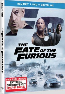 fast and furious 8 director the fate of the furious extended version digital release