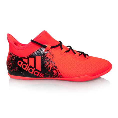 adidas futsal shoes adidas x 16 2 mens indoor soccer shoes solar red