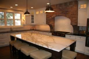 Contemporary Kitchen Lighting Fixtures - calcutta gold marble amp black honed granite contemporary grand rapids by stoneway marble
