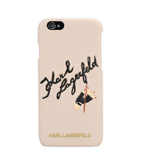 artistic signature iphone 6 karl lagerfeld