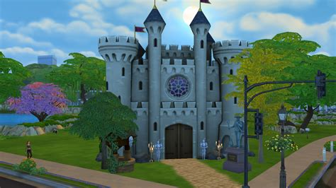 sims 4 medieval castle finally made my own medieval castle no this isn t a