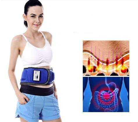 Bfit Exclusive Slimming Belt Blue electric slimming massager belt vibrating burning
