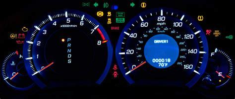 acura dashboard lights new how many dash lights acurazine acura