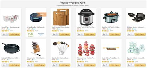 Wedding Registry Gifts by Wedding Lists Archives The Wedding Specialiststhe