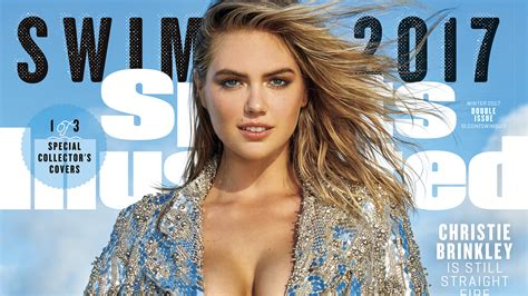 kate upton 2018 calendar kate upton on cover of 2017 sports illustrated swimsuit covers today com