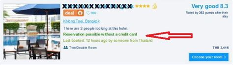how to make hotel reservation without credit card book hotels without a credit card
