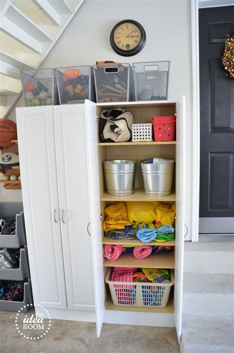 organize garage clutter the idea room