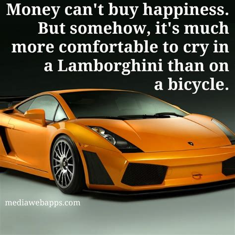 How Much Money Is A Lamborghini Money Can T Buy Happiness But Somehow It S Much More