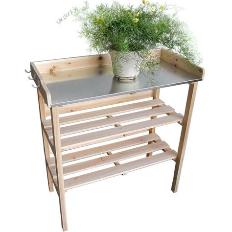 garden work benches jago pt01 plant potting table work bench greenhouse