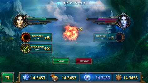 project templates free fantasy mobile game ui template