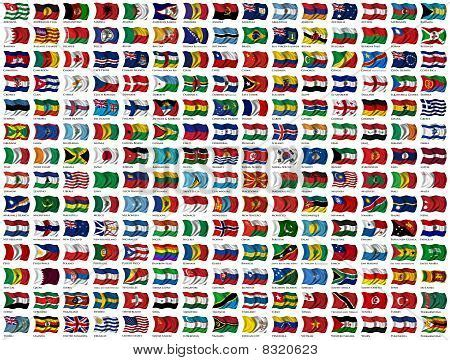flags of the world large images world flags set stock photo stock images bigstock