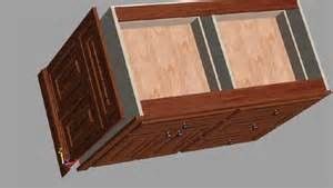 How To Build A Kitchen Base Cabinet End Panels Inset Into A Face Frame