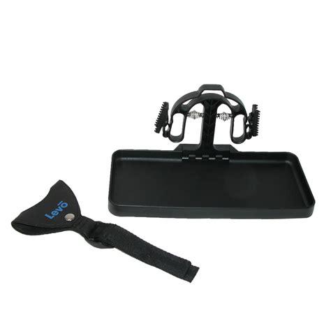 portable travel luggage tray shelf desk by levo travel