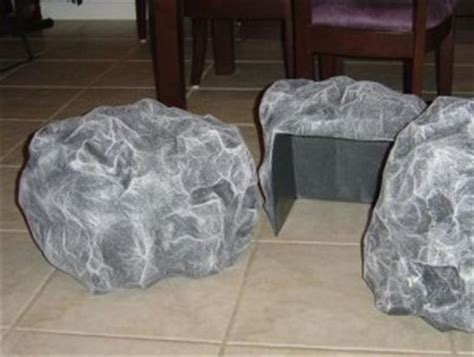 How To Make A Paper Mache Rock - bible crafts of the sort but easily adaptable to