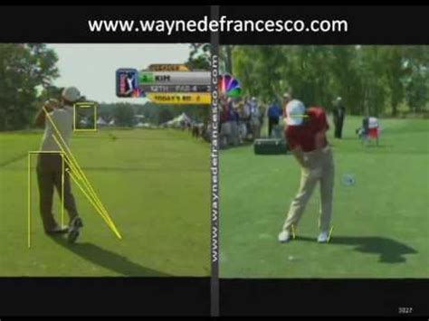 anthony kim golf swing anthony kim swing analysis youtube