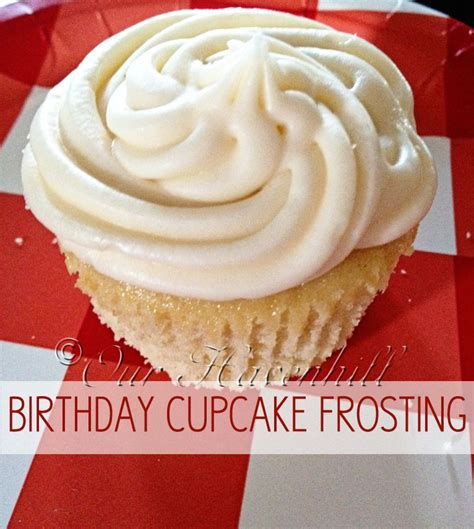 birthday cupcake buttercream frosting ingredients 1 package 16 oz powdered sugar 1 2 cup 1