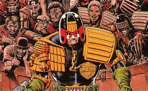 Pistols The Graphic Novel top 10 best judge dredd comic book stories scifinow