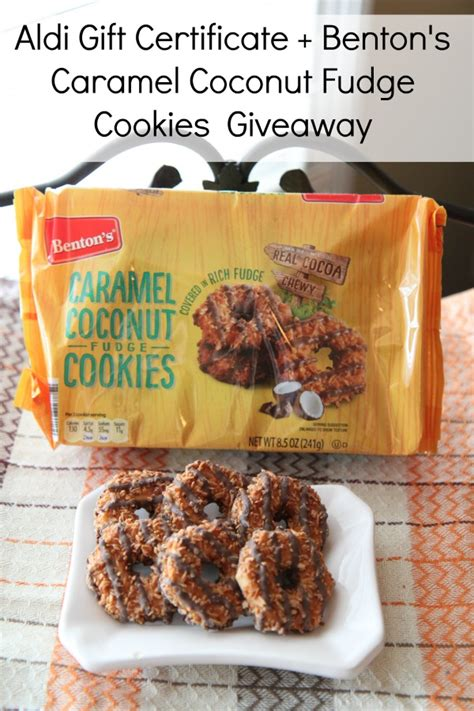 Aldi Giveaway - benton s caramel coconut fudge cookies 2015 best new product aldi gc giveaway