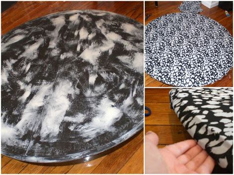 Decoupage Table Top With Fabric - 17 best images about decoupage on color