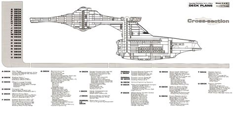 star trek enterprise floor plans star trek blueprints uss enterprise ncc 1701a deck plans