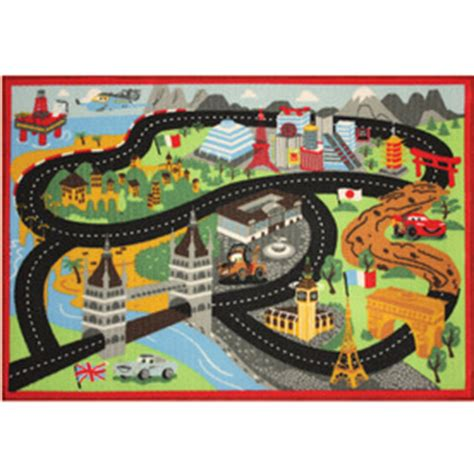 Disney Cars Rugs by Shop Disney Cars Bridge Rug At Lowes