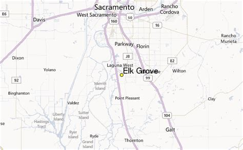 california map elk grove elk grove weather station record historical weather for