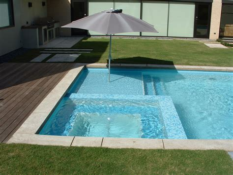 Square Swimming Pool | extraordinary square pool design ideas white ceramic in