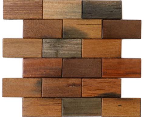 pattern old wood brick pattern 2x4 antique wood mosaic wallandtile com