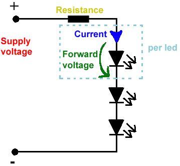 rgb led resistor calculator 555 rgb rainbow led driver not using a 4029 7