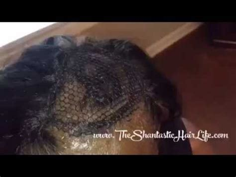weaves for thinning black hair fixing a sew in weave on thin hair youtube