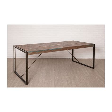 Table A Manger Vintage 78 by Table 224 Manger Vintage Noah En Teck Massif Recycl 233 Et