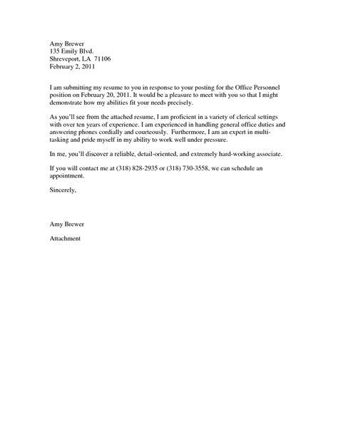 exle receptionist cover letter best photos of exles of collection letters for