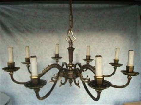 kronleuchter messing 8 flammig mobiliar interieur len leuchten gefertigt nach