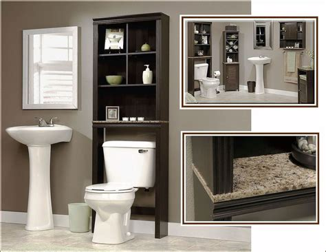 Towel Cupboard - bathroom storage cabinet linen towel toilet wood
