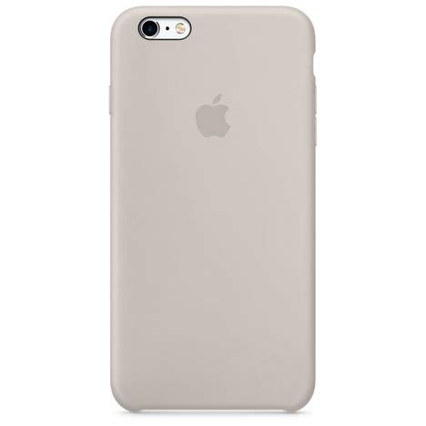 coque silicone iphone  gris sable apple pas cher