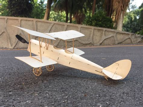 Seaplane Balsa Wood Airplane 1600mm Kit Only Terurai minimumrc tiger moth biplane 400mm wingspan balsa wood laser cut rc airplane kit ebay