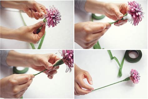 Make Your Own Paper Flowers - diy project how to make your own paper flowers