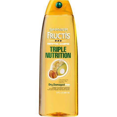 shoo garnier triple nutrition extra dry damaged hair garnier fructis 174 triple nutrition shoo 13 fl oz