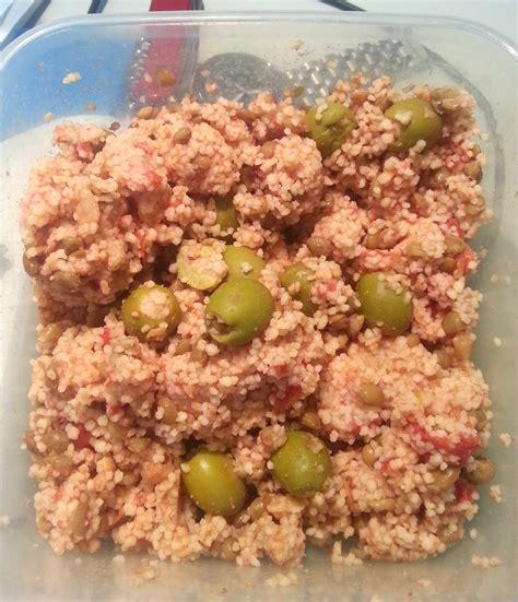 pranzo da ufficio pranzo da ufficio cous cous con lenticchie e olive in