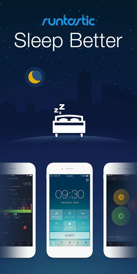 sleep better app neue app blogserie besser schlafen mit runtastic