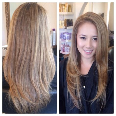 hair highlight for asian asian blonde ambitions full highlights and root
