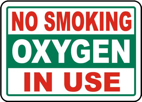 no smoking oxygen signs printable no smoking oxygen in use sign by safetysign com j2553