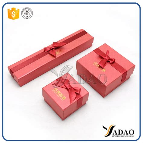 Handmade Paper Gift Boxes - promotional handmade paper jewelry gift box with ribbon