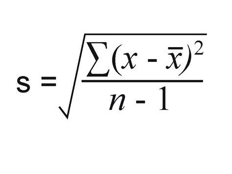 understanding sle standard deviation mathematical