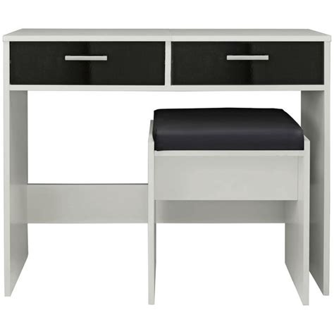 sywell bedroom furniture buy home new sywell dressing table stool white black
