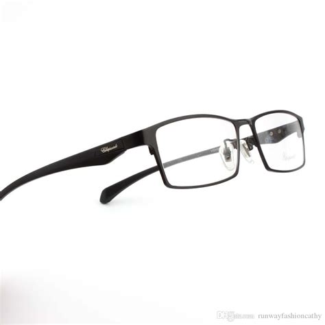 trendy eyeglasses 2017 2018 2017 fashion designer style mens alloy square plain