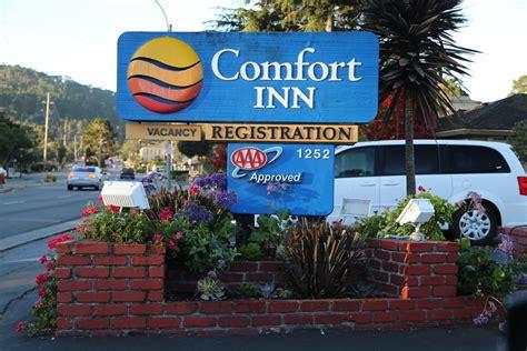 comfort inn munras monterey guides monterey ca monterey hotels dave s travel corner