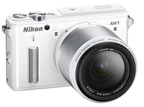 Nikon Underwater nikon aw1 the waterproof interchangeable lens