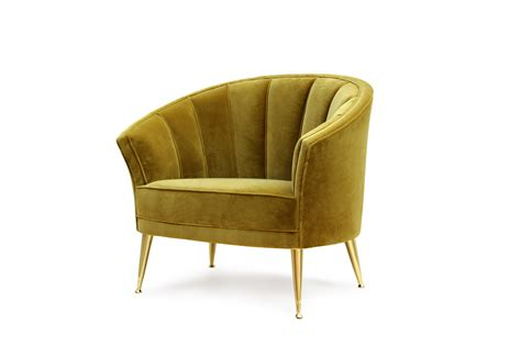the armchair maya armchair mid century modern furniture by brabbu