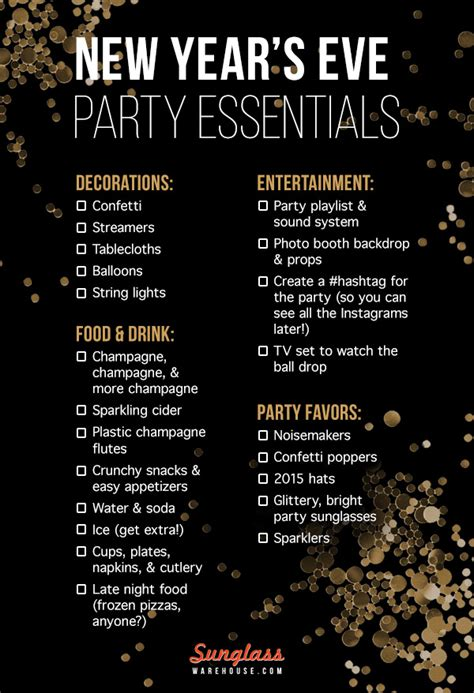 how to plan an epic new year s eve party